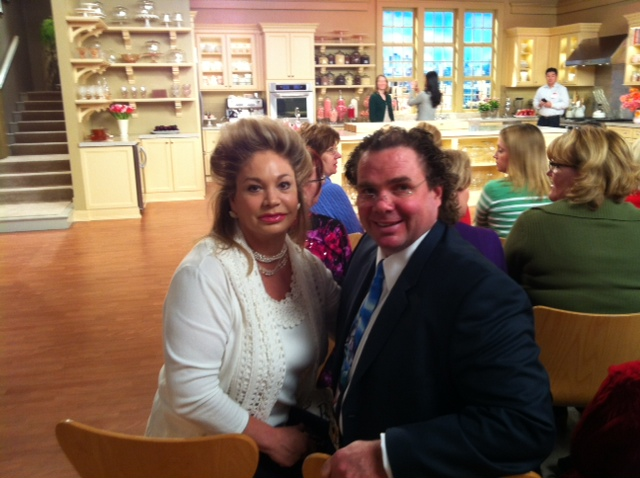 Ben and I at the Martha Stewart Show