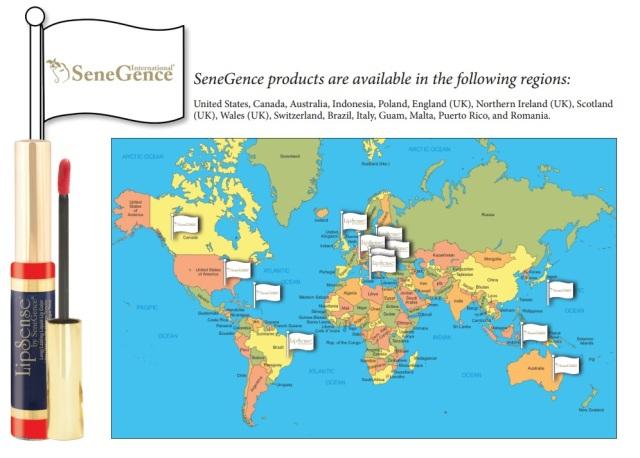 senegence map 2014