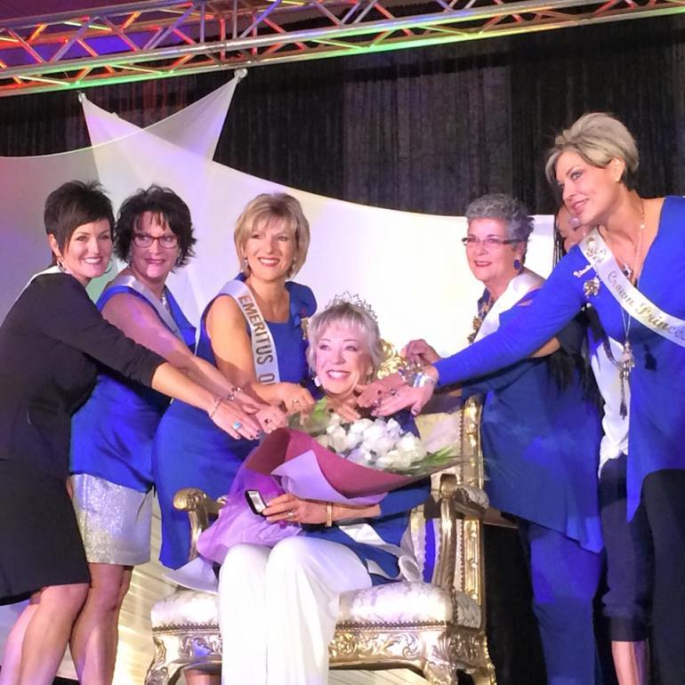 The crowning of a NEW Crown Princess, Cathy Hoolihan