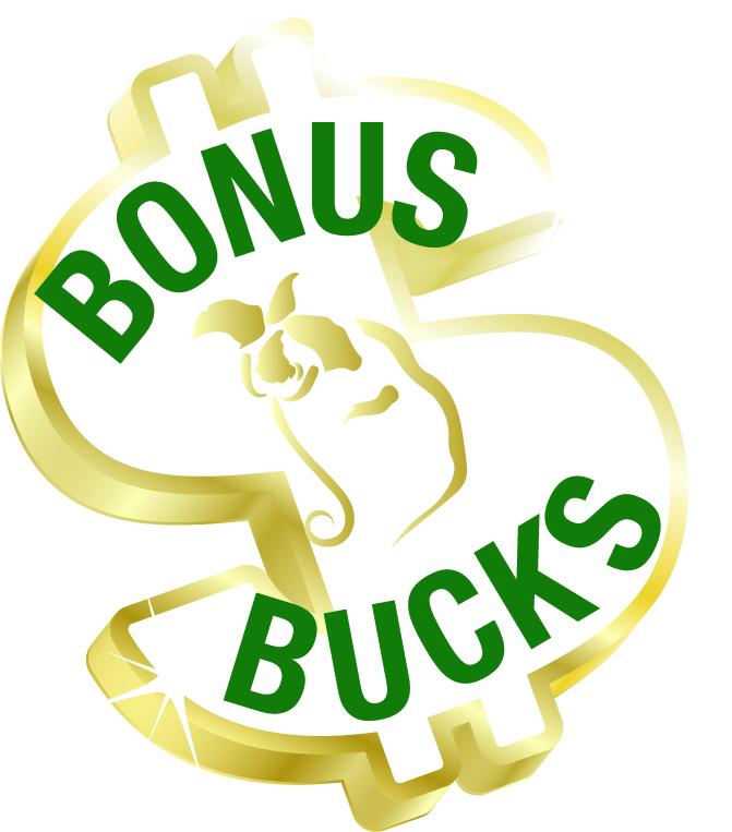 Bonus Bucks logos