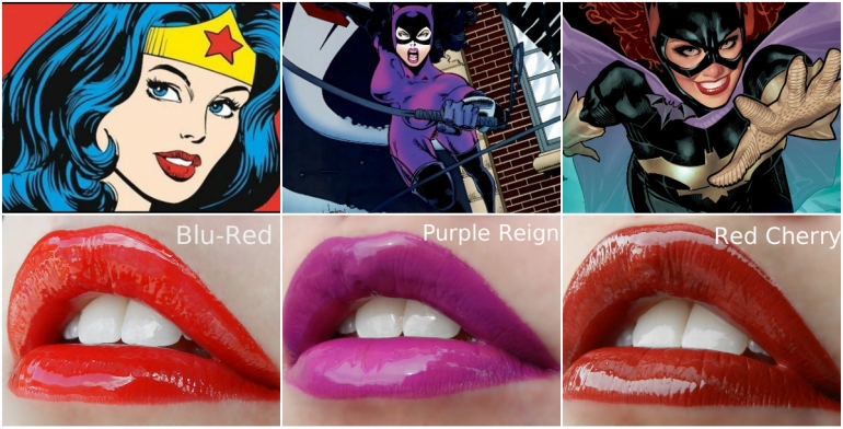 halloween superhero collage